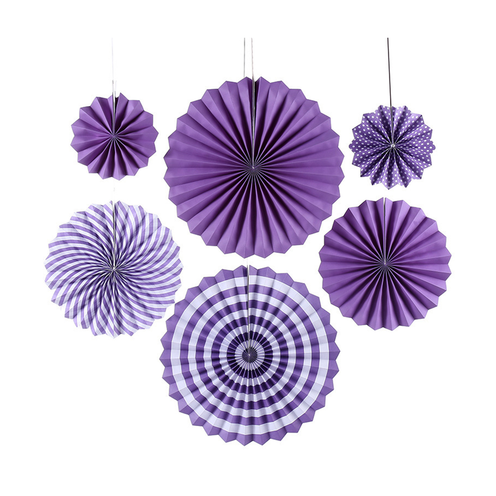 paper fan decoration set