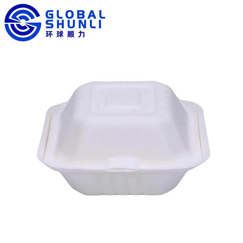 sugarcane bagasse burger box