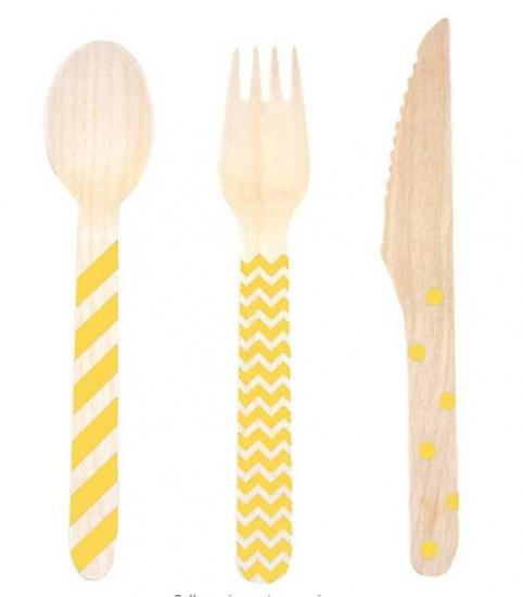 Custom Wooden Cutlery