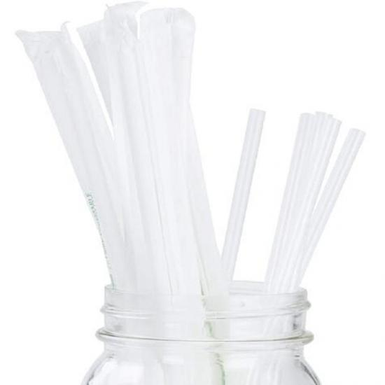 Wrapped Drinking Paper Straws