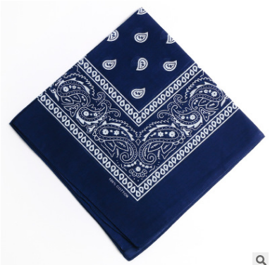 cotton logo printed bandana